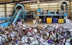 نخستین نیروگاه تولید برق از زباله