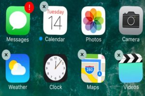 Delete Stock Apps in iOS 10